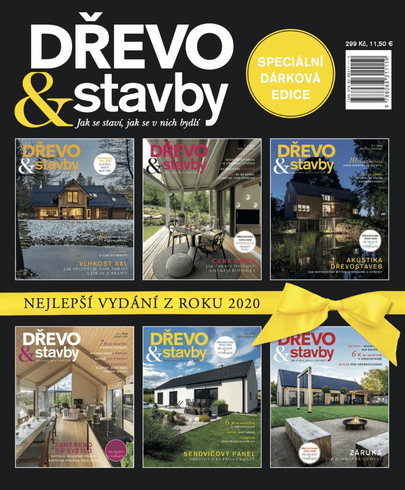 Dárková edice DŘEVO&stavby 2020